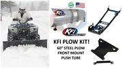Kfi Polaris And03912 -and03919 Can Am Renegade Plow Kit 60 1000 Xmr R Straight Plow