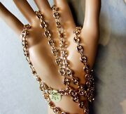 9 Ct Rose Gold Second Hand Long Hollow Anchor Chain