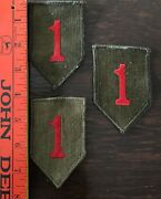 Vintage 1960s Brass Military Buttons And Patches From Us Army Dress Uniforms