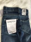 Nwt Boys Pdandc Paper Denim And Cloth Stretch Straight Jeans Ethan •size 4 Reg 50