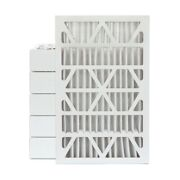 16x25x4 Merv 11 Pleated Ac Furnace Air Filters By Glasfloss. Case Of 6.