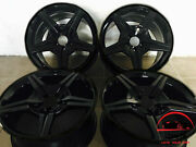 Set Of 4 Mercedes Sl-class 2009-2012 19 Factory Oem Staggered Wheels Rims