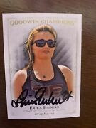 Erica Enders Stevens Signed Trading Card Autographed Goodwin Champions