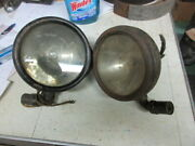 Vintage Antique Lamp 10and039s 20and039s Big Car Pair Packard Cadillac Studebaker Packard