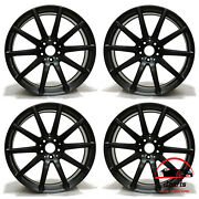 Set Of 4 Mercedes S-class 2014-2017 20 Factory Original Staggered Wheels Rims