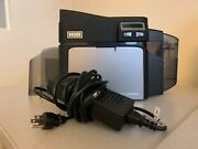 Fargo Dtc4250e Id Card Printer Comes W/ Power Cable Only