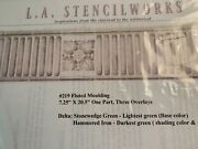 New La Stencilworks Andnbspfluted Moulding 219 Andnbsp7.25x20.5 Decorative Wall Decor