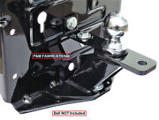 Pandm Fabrication Universal Lawn Garden Tractor Hitch With Brace Kit Included