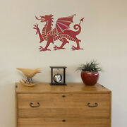 Welsh Dragon Stencil - Large Reusable Dragon Template By Craftstar