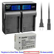 Kastar Battery Lcd Rapid Charger For Canon Nb-7lh Cb-2lz Canon Powershot G10is