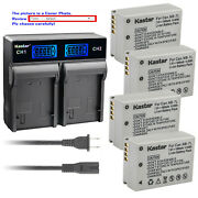 Kastar Battery Lcd Rapid Charger For Canon Nb-7l Cb-2lze And Canon Powershot G10