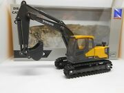 Toy Car Volvo Ec140e Digger Toy Tractor Boy Girl Dad Birthday Gift Present Boxed