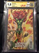 Jean Grey 1 Remastered 11000 Cgc Ss 9.8 Sign Stan Lee Red X-men 101 Homage