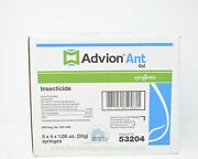 Case Of 5 4x30g Packs Advion Ant Gel W/plunger And Tips 20 Tubes Fire Ghost