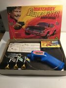 Vintage 1970andrsquos Matchbox Superfast Power Driver Boxed Complete And Working