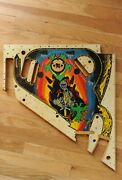 Williams Black Knight Upper Pinball Playfield Replace Yours Or Retro Wall Art
