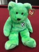 Ty Beanie Baby Incredibly Rare Kicks Bear Collectible With Tag