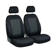 Car Seat Covers For Honda Civic Front Seats Black Grey 3d Effect