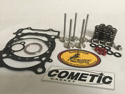 Grizzly 660 +1 Kibblewhite Stainless Valves Seal Guides Springs Head Top End Kit