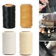 16 Colors Waxed Thread Cotton Cord Sewing Line Handicraft Leather Accessories