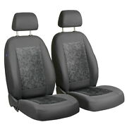 Car Seat Covers For Honda Civic Front Seats Grey Velours