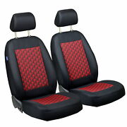 Car Seat Covers For Volvo C70 Front Seats Black Red 3d Effect