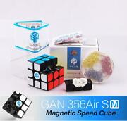 Gan 356 Air Sm 3x3x3 Magnet System Speed Magnetic Magic Cube Twist Puzzle Toy