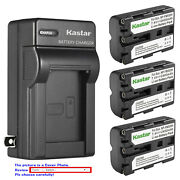 Kastar Battery Ac Wall Charger For Sony Np-fm500h And A700 Dslr-a700p Dslr-a700z