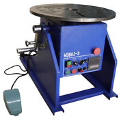 New 300kg Wdbwj-3 Automatic Welding Positioner With Chuck For Mig/tig Welding