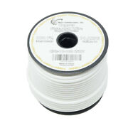 14 Awg Pure Copper Stranded Power Wire 100ft True Gauge Remote Cable White