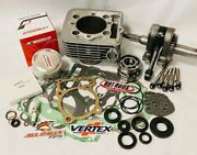 99-04 Trx400ex Trx 400ex Rebuild Kit Big Bore 87mm Complete Top Bottom End Crank