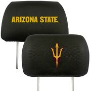 Arizona State Sun Devils 2-pack Auto Car Truck Embroidered Headrest Covers