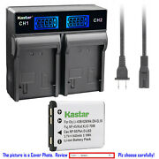 Kastar Battery Lcd Rapid Charger For Nikon En-el10 Mh-63 And Nikon Coolpix S510