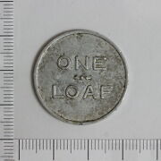 Bread Token For 1 Loaf Issued By Woonona Industrial Co-operative Nsw 3182058c3