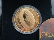 New Zealand -2003 - Gold 10 Proof Coin- The Lord Of The Rings Gold Proof Coin