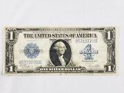 1923 One Dollar Blue Seal Washington Large Silver Certificate
