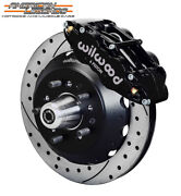 Wilwood 65-69 Ford Mustang Falcon Cougar 12.88 Front Disc Brakes 140-12637-d