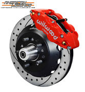 Wilwood 65-69 Ford Mustang, Falcon, Cougar 12.88 Front Disc Brakes 140-12637-dr