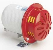 Sirena Celere Series Motor Siren 12v Dc 106db Continuous Surface Mount,white/red