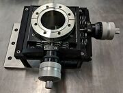 Mdc Xy-25 Ultra Heavy Duty Precision Uhv Xy Vacuum Stage On 4.5 Conflat Flange
