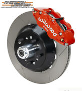 Wilwood 68-72 Twd Ford F100 Truck 14.00 Front Disc Brake Kit 140-14841-r