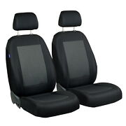 Car Seat Covers For Honda Civic Front Seats Black Grey Triangles