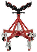 Bandb Pipe Giant 5 Leg Jack With Urethane Coated Steel Caster Steel Wheels In Head