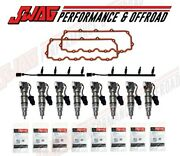 2003 Ford Powerstroke 6.0l Injectors Valve Cover Gaskets And Oem Glow Plugs