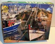 New Sealed Golden Guild 1500 Pc Fishing Boat Greece Jigsaw Puzzle 40678-11