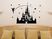 Disney Castle Fairytale Princess Tinkerbell Wall Art Decal Sticker Picture