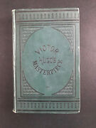 Les Miserables, By Victor Hugo - 1882 - Library Edition, Antique, Hardcover Book