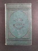 Les Miserables By Victor Hugo - 1882 - Library Edition Antique Hardcover Book