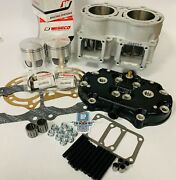 Banshee 421 4 Mil Cpi Serval Cub Wiseco Pistons Cylinder Head Big Bore Top End
