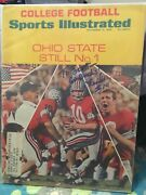 Rex Kern Ohio State Buckeyes Signed 1969 Sports Ilustrated/woody Hayes/champions